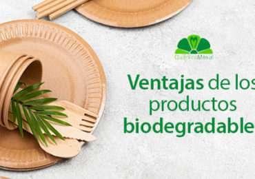 Ventajas de usar productos biodegradables